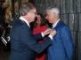 Huldiging jubilarissen en Koninklijke onderscheiding, lid in de Orde van Oranje Nassau bestuurslid Karel 2017