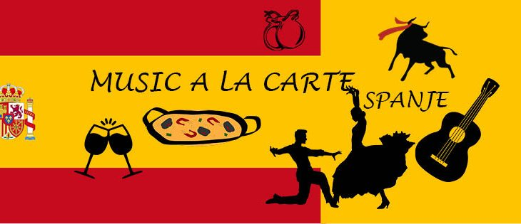 Concert MUSIC A LA CARTE – 22 april – Thema Spanje
