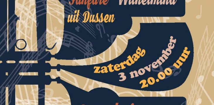 Najaarsconcert in Heusden 3 nov.