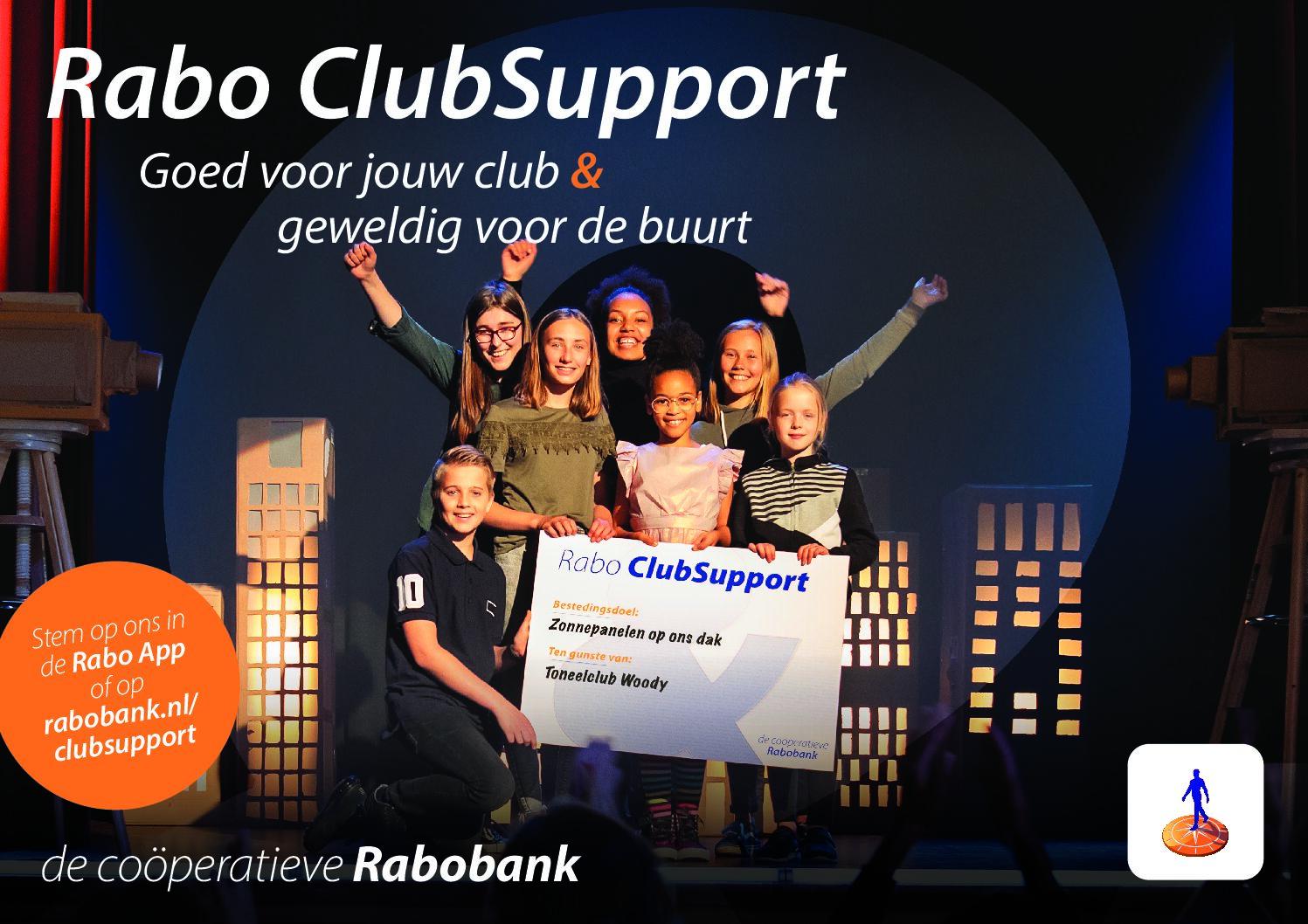 Rabo ClubSupport: Steun onze fanfare en stem op ons